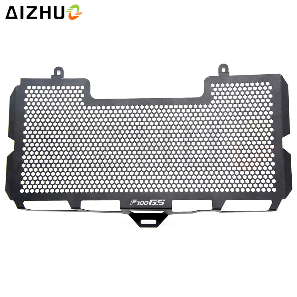 AIZHUO For BMW F700GS 2008 2009 2010 2011 2012 Motorcycle Radiator Grille Guard Cover Stainless Steel Radiator Protecive Cover motorcycle radiator grill guard cover protector radiator protection for bmw f650gs 2008 2012 f700gs 2011 2015 f800r 2012 2014