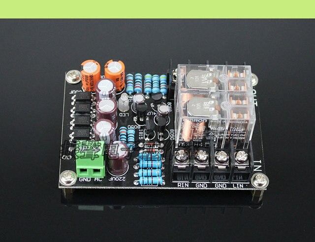 AC 12 15V 10A Stereo Speaker protection board Loudspeaker Protective Delay Start Board
