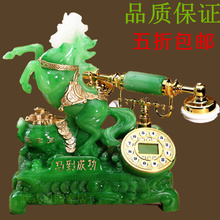 A new technology of high-end antique antique household telephone cable telephone office old villa antique telephone style antique telephone set garden antique telephone jade telephone set