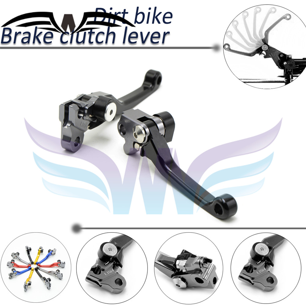 dirk bike handle CNC brake clutch lever honda XR250/MOTARD 1995 1996 1997 1998 1999 2000 2001 2002 2003 2004 2005 2006 2007 - Bat King Motorcycle store