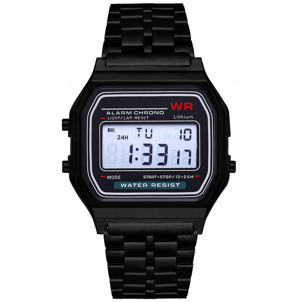 montre digitale waterproof