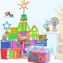 420 шт. экологическая Интубация, пластиковые детские игрушки, строительные блоки, креативные Обучающие головоломки, вставляемые блоки GF130