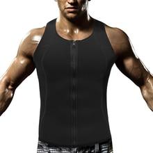 Mens Running Vest Sports Bodysuits Gym Tank Top Quick Dry Sleeveless Sport Shirt Men Clothing Zipper Sportswear