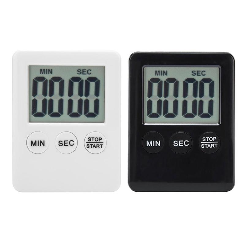 2colors available mini portable LCD Digital Programmable Timer Kitchen Cooking Count-down Up Clock Loud Alarm Reminder
