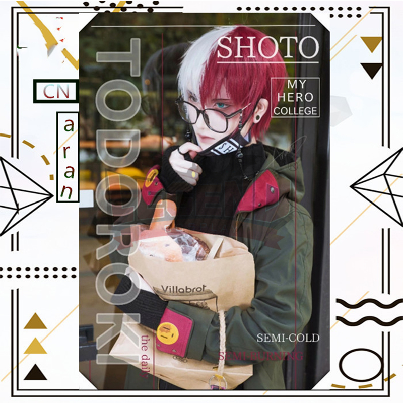 Us 78 0 Cosplaylegend My Hero Academia Boku No Hero Akademia Todoroki Shoto Cosplay Costume Deku Costume Fanart Version In Anime Costumes From