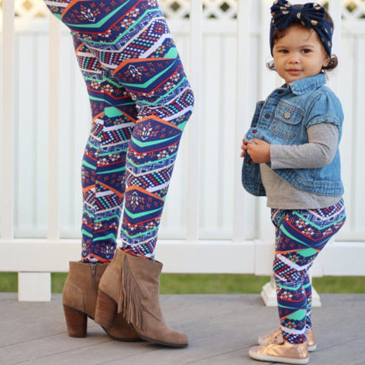 2017 Vintage Family Matching Clothing Mother Daughter ...