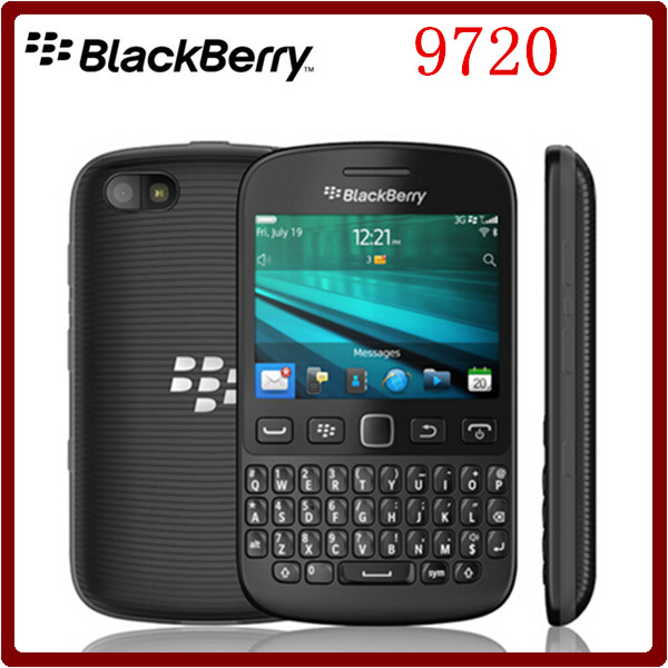 9720 Unlocked blackberry 9720 QWERTY Keyboard 5MP Support GPS WiFi Capacitive Screen