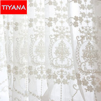 Rustic Window Curtains For Livign Room Bedroom Curtains Home Decoration Cotton Ployester Customized Size Blackout Curtains