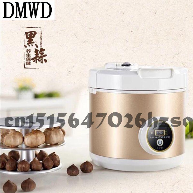 DMWD black garlic machine ferment zymolysis zymosis garlic household appliances for the kitchen food processor tools Automatic wavelets processor
