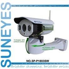 SunEyes SP-P1803SW 1080 P Full HD Pan/Tilt Ip-камера Беспроводная Открытый Wi-Fi Поддержка Карта Micro Sd Слот
