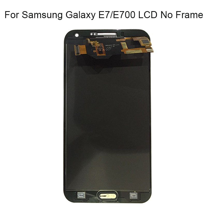 100% Super AMOLED LCD For Samsung Galaxy E7 E700 E700F E7000 E7009 LCDS Display Touch Screen Digitizer Assembly Replacement100% Super AMOLED LCD For Samsung Galaxy E7 E700 E700F E7000 E7009 LCDS Display Touch Screen Digitizer Assembly Replacement