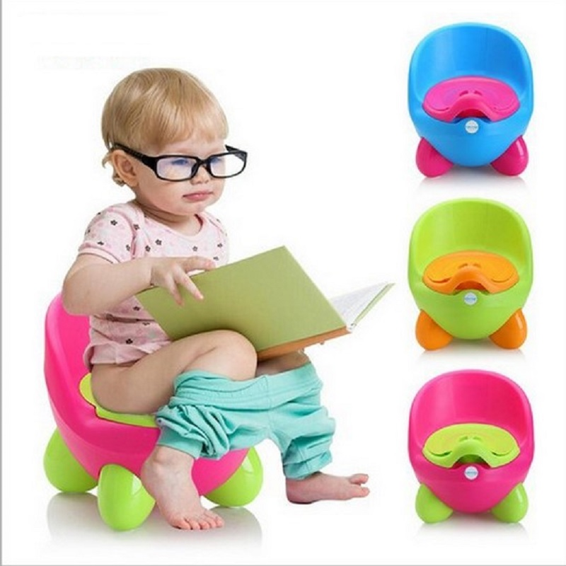 Baby Potty Training Toilet Plastic Non-slip Kids Toilet Seat Foldable Protable Travel Po ...