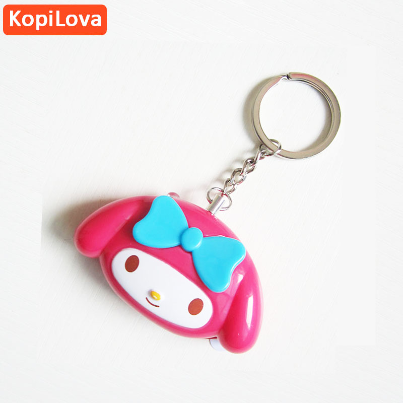 KopiLova Wholesales 10pcs Little Girl Self Denfense Alarm Anti-rob Anti Attack Guard Safety Alarm Self-protection Alarm