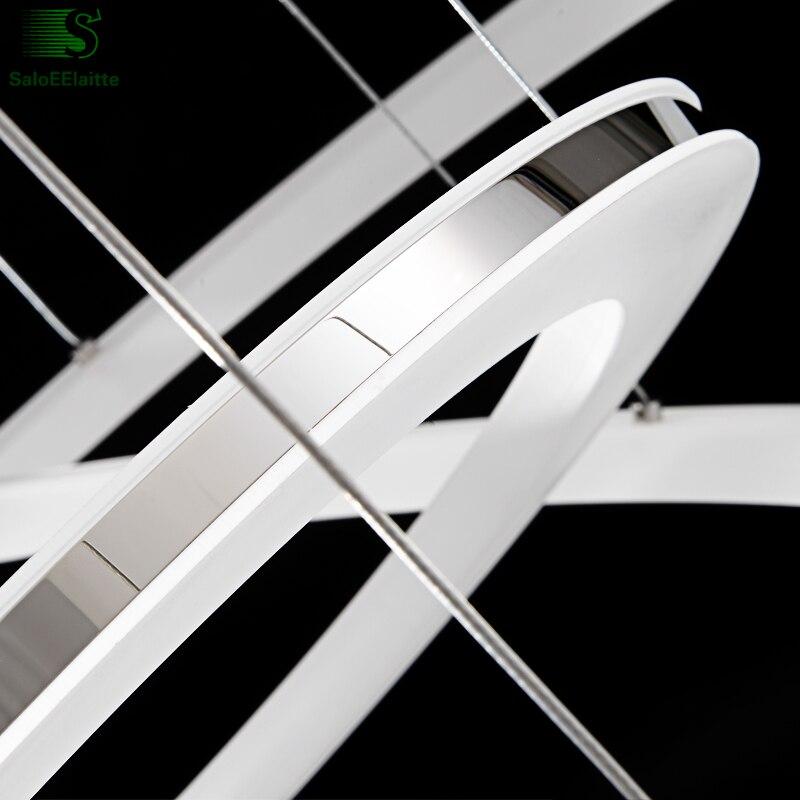 Ժամանակակից մինիմալիզմի ալյումինե - Ներքին լուսավորություն - Լուսանկար 4