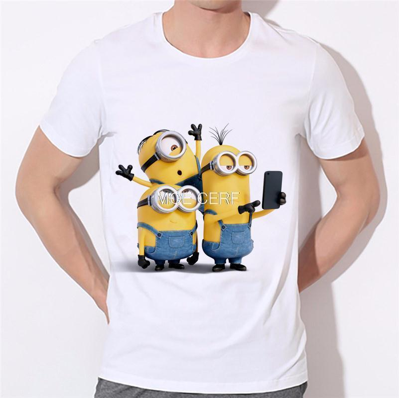 ALI shop ...  ... 32700459428 ... 4 ... 2019 men's fashion funny design simple one eye minion printed t-shirt cute tee shirts Hipster new arrivals O-neck cool top 18-1# ...