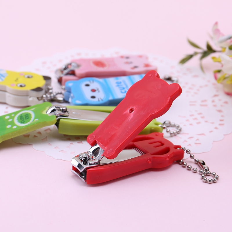 Activity & Gear 2018 Fashion Stainless Steel Nail Clippers Scissors Cutter Safety Newborn Baby Convenient Party Gift Candy Color Mother & Kids