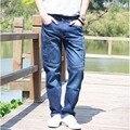 Vaqueros rectos hombre Jeans 2016 nuevas estaciones en general carga suelta pantalones elasticidad Mens pantalones largos más el tamaño 28-44 Bottoms