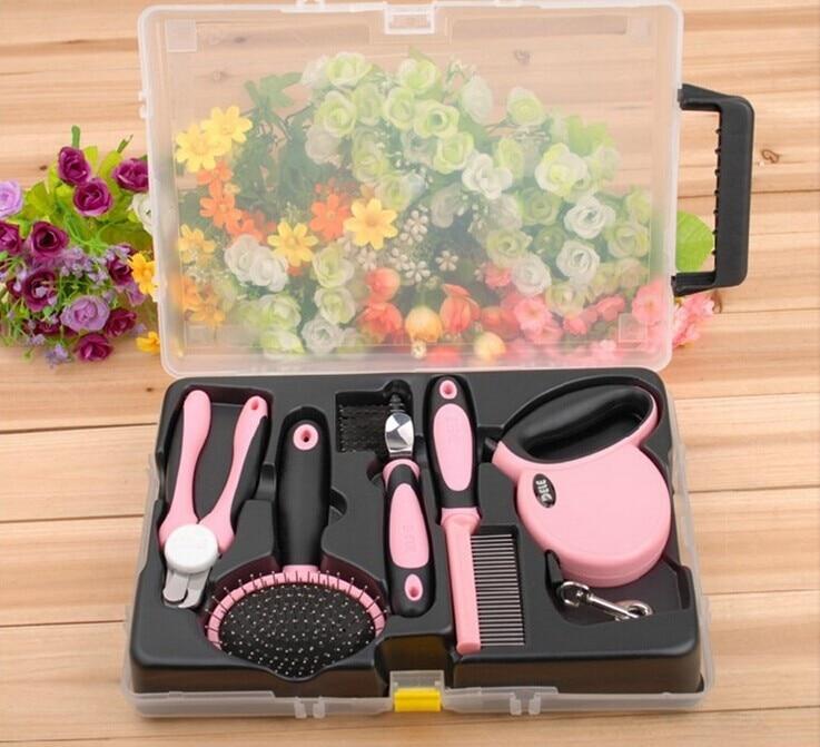 Ножницы и расческа набор инструментов для ухода за домашними животными для собак кошек щенков B0730A продукт