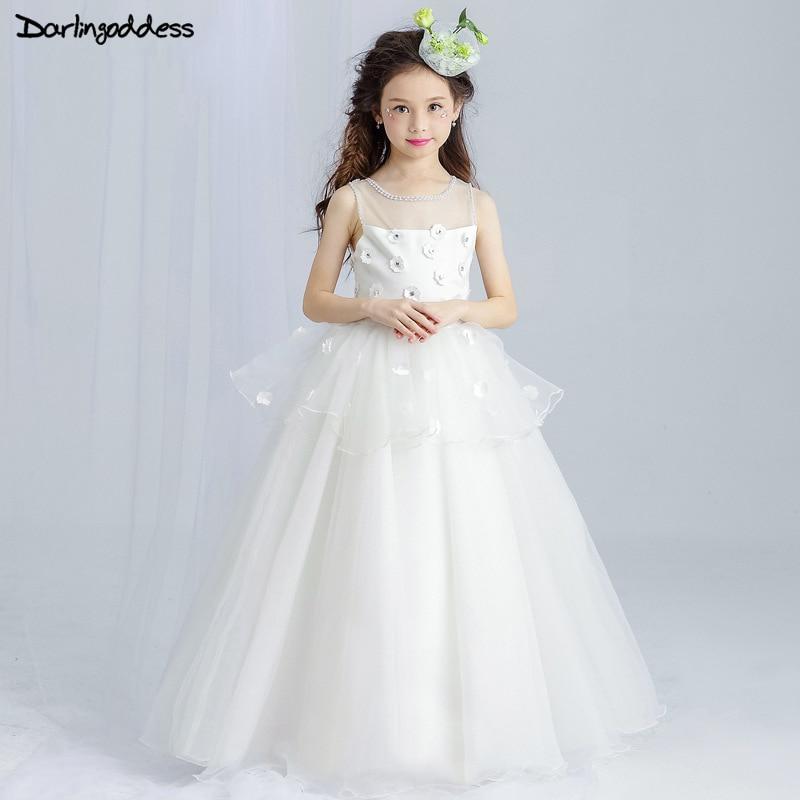 Purple Flower Girl Dresses For Weddings Party Dress For Girls Long ...