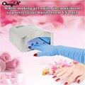 Ferramentas de Arte do prego 1 Par Nail Art Gel UV Anti Radiação Luvas de Proteção UV Manicure Salon Pessoal Acessório Atacado