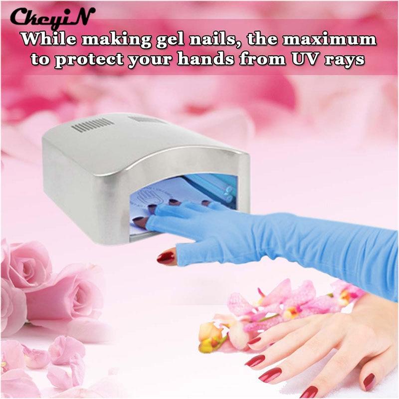 Nail Art Tools 1 Pair Nail Art UV Gel Anti Radiation UV Protection ...