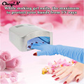 Nail Art Tools 1 Pair Nail Art UV Gel Anti Radiation UV Protection Gloves Manicure Salon Personal Accessory Wholesale