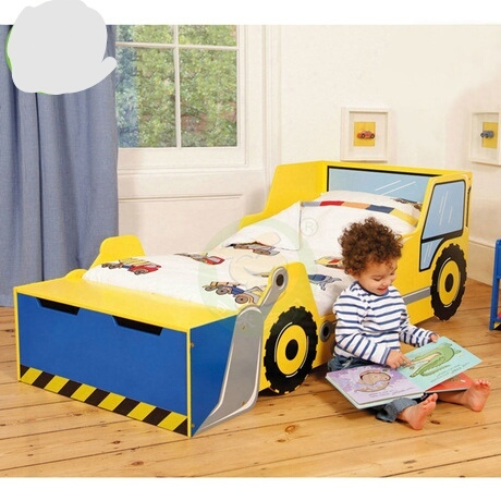 Camas de niños muebles madera maciza niños camas cama niño ...