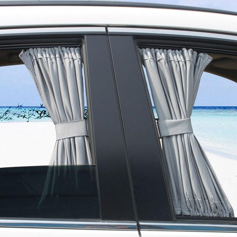 Curtain Windshield Sun-Block Car-Side-Window-Sunshades Uv-Protection Auto-Rear