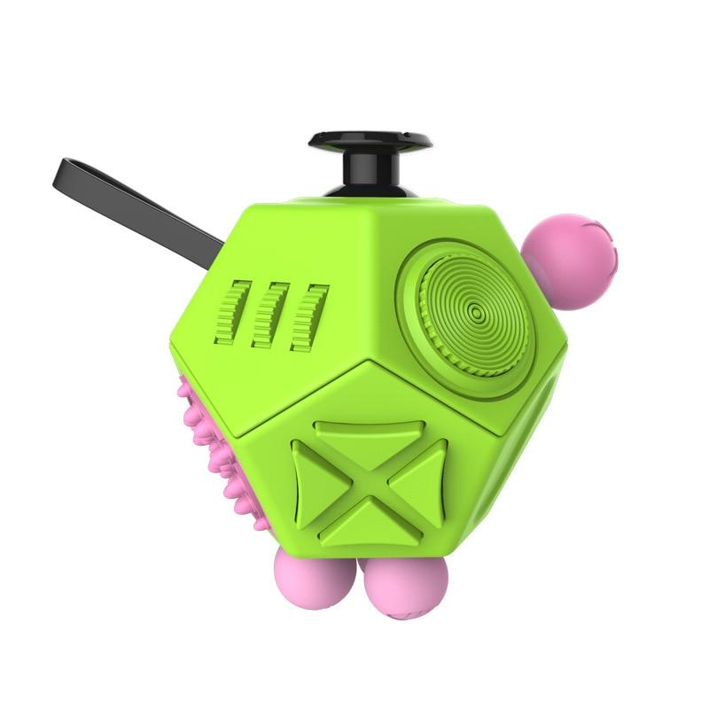 Fidget Cube Stress Upgraded 2 Antistress Magic Stress Cube Relieve Anxiety Boredom Finger Tips Anti Irritability Toys