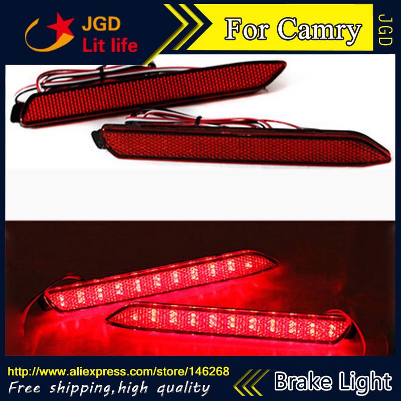 Free Shipping New 2016 Tail Light Parking Warning Rear Bumper Reflector For Toyota Camry 2006 2013