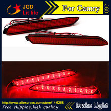 Free shipping New 2017 Tail light parking warning rear bumper reflector for Toyota Camry 2006 2013