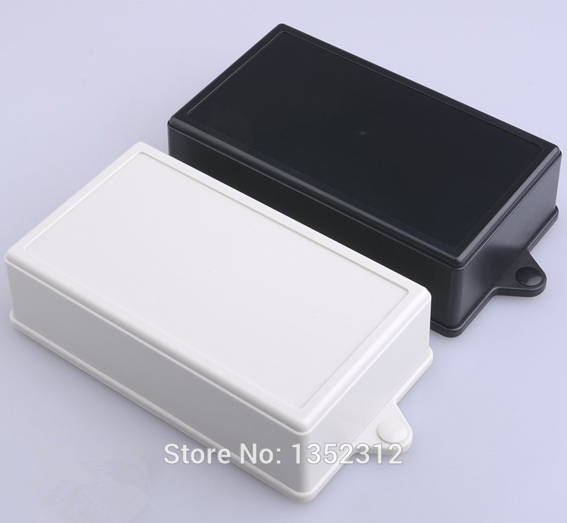 10 pcs/lot 120*60*35mm wall-mounted plastic enclosure for electronic abs distribution enclosures junction box DIY project box