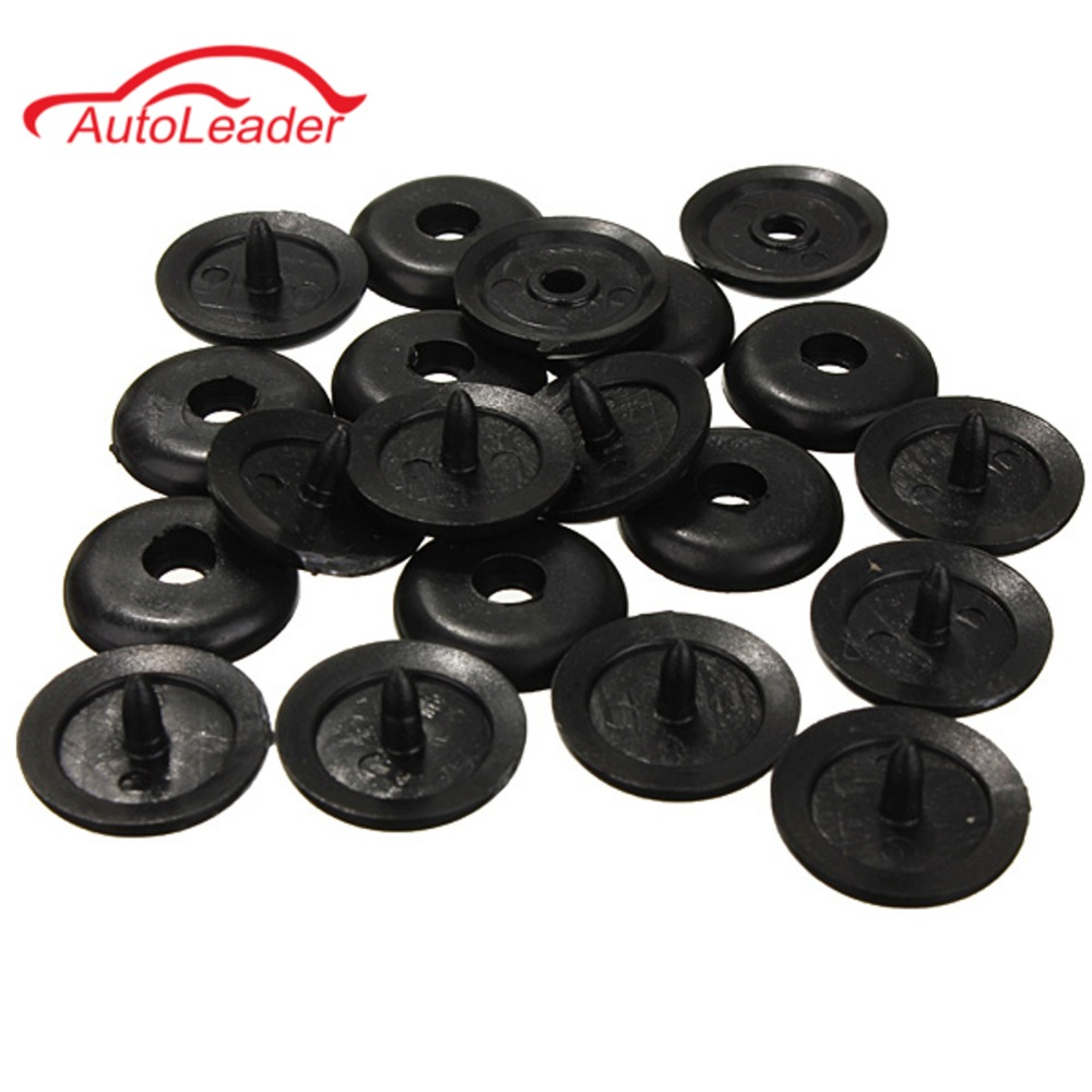 10pcs seat belt buckle holder fasteners clips seat belt stop button for ford china