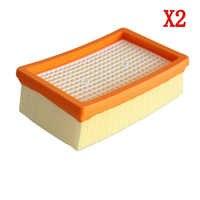 2 pcs/lot filtre HEPA pour KARCHER MV4 MV5 MV6 WD5 WD6 aspirateur humide et sec pièces de rechange #2.863-005.0 filtres hepa