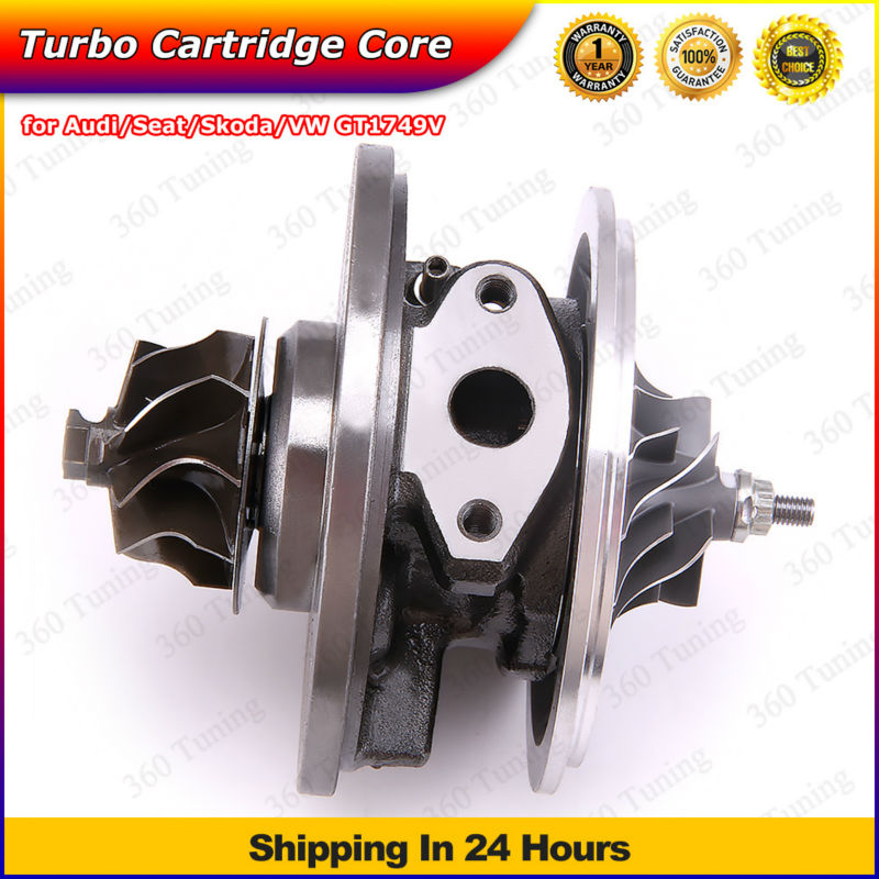 GT1749V turbo cartridge 713672-0006 713672-0005 454232-1/3/4/5 768331-0001/2 for Skoda Octavia I 1.9 TDI 03g253016K 03G253014R
