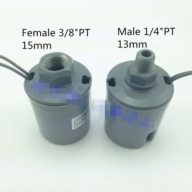 1)125W 250/370W 550W 750W Automatic Booster Pump Pressure Switch Controller 3/8PT Female w 1/4PT Male 1.0-1.8 2.2-3.0 16A 220V sk 1 2 double pole water booster pump pressure control switch automatic booster pump controller