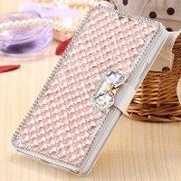 For Samsung Galaxy J5 2015 J500 Luxury Girl Woman Lady Jewelled Filp Leather Wallet Diamond Phone