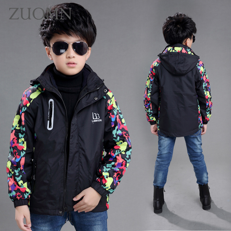 e84070a74 New Boys Jacket For A Boy Raincoat Children Winter Clothes Softshell ...