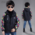 New Boys Jacket For A Boy Raincoat Children Winter Clothes Softshell Jacket Kids Active Coat Clothing Waterproof Outwears GH110