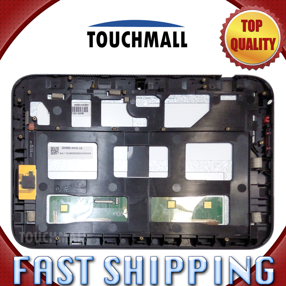 For New LCD Display Touch Screen with Frame Assembly Replacement Lenovo IdeaTab A2109 9-inch Black Free Shipping