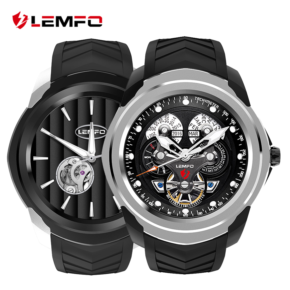 LEMFO LF17 Smartwatch Android 5.1 GPS Wifi Bluetooth Call Message Reminder SIM TF Card Fashion Smart Watch Heart Rate Monitor