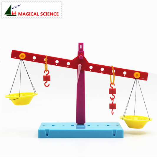 Wholesale Plastic Educational Lever Principle Balance Scale Experiments Diy Material Physics Teaching For Kids Students #4