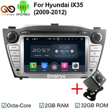 HD 1024*600 2GB RAM Octa Core Android 6.0.1 Auto 7″ PC 2 Din Stereo Car DVD GPS Fit For Hyundai Tucson IX35 2009-2012