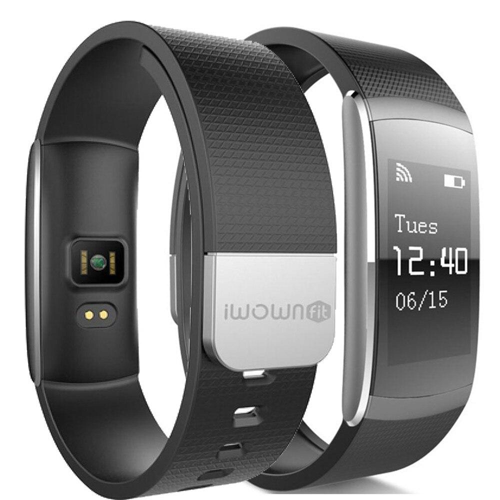 Iwown i6 PRO smart sport bracelet podomètre multi-fonction message alerte sensible tactile sommeil moniteur entrant message alerte
