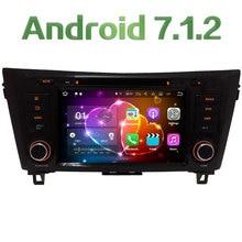 """8 """"Android 7.1.2 Quad Core 2 GB RAM 4G WiFi BT DAB SWC multimedicar DVD Radios GPS navi estéreo para Nissan x-trail qashqai"""