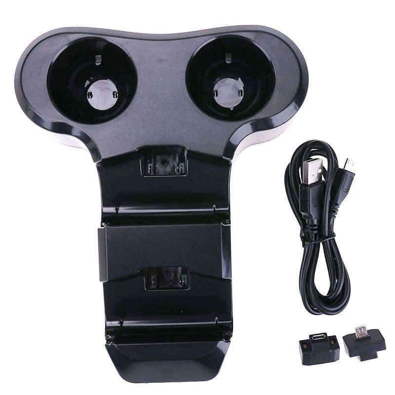 USB Порты и разъёмы 4 Слот Зарядное устройство для зарядная станция станции Подставка-Держатель для PS4 PS VR контроллер Высокое качество видео игры Зарядное устройство