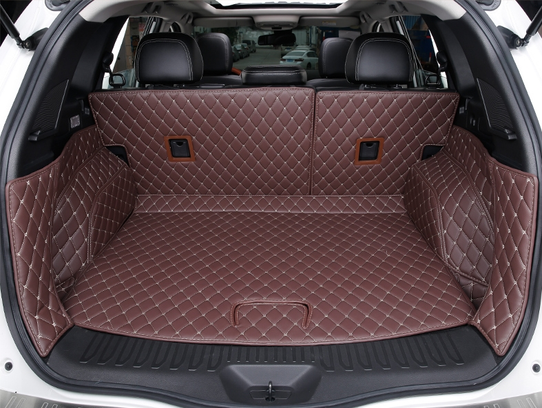 Good mats! Special trunk mats for New Renault Koleos 2017 waterproof boot carpets cargo liner mats for Koleos 2017,Free shipping