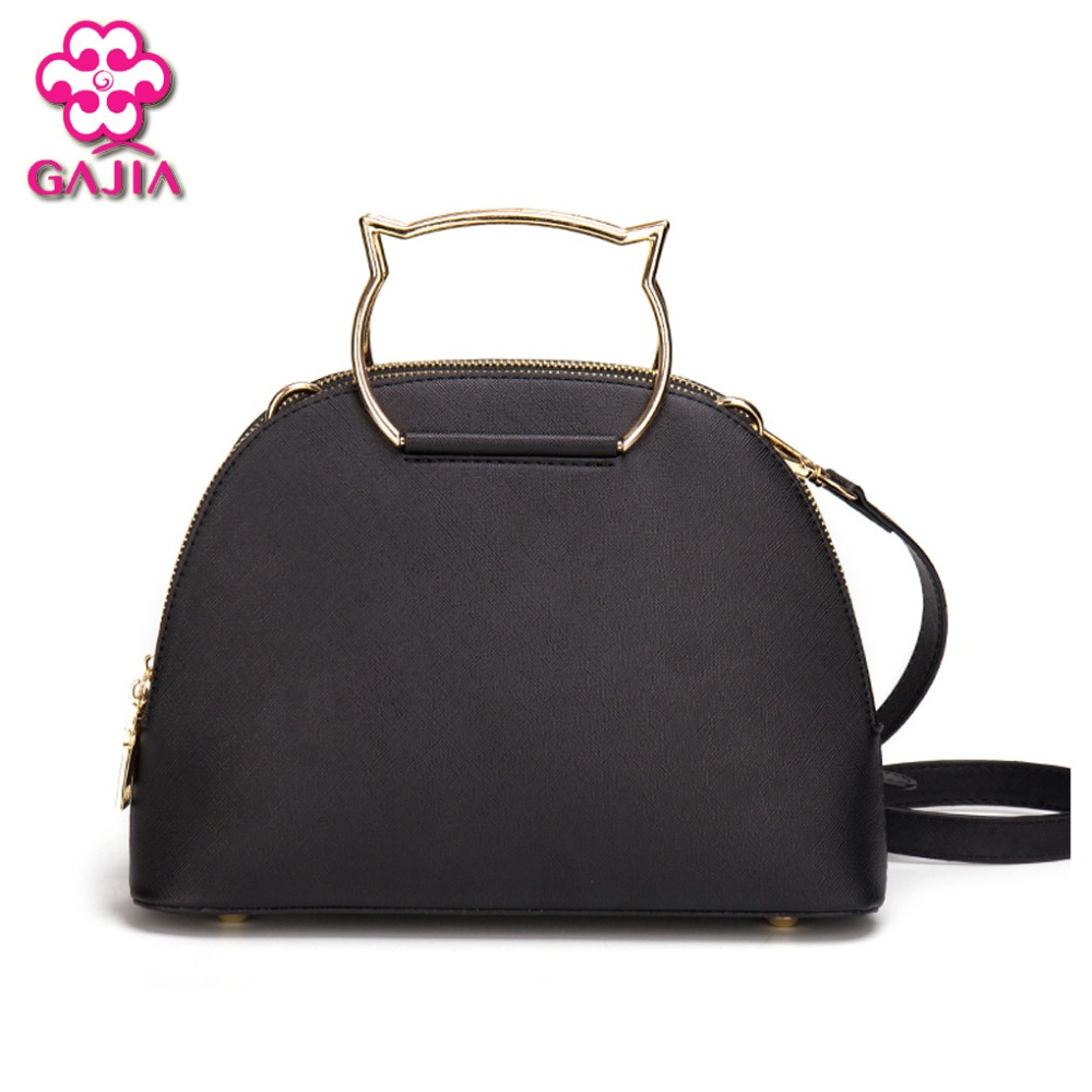 2016 New Fashion Famous Designers Fashion Shell Bag Handbags High Quality PU Shoulder Tote Bag Lady Women Bags Cat Children Pack china leather handbags 2016 new famous designers women s cowhide litchi grain shoulder bags fashion shell handbags free shipping