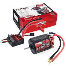 цена на SURPASS 540 20T Brushed Motor with 60A ESC Combo Set for HSP HPI Tamiya FS Kyosho TRAXXAS Yokomo WLtoys 1/10 RC Car
