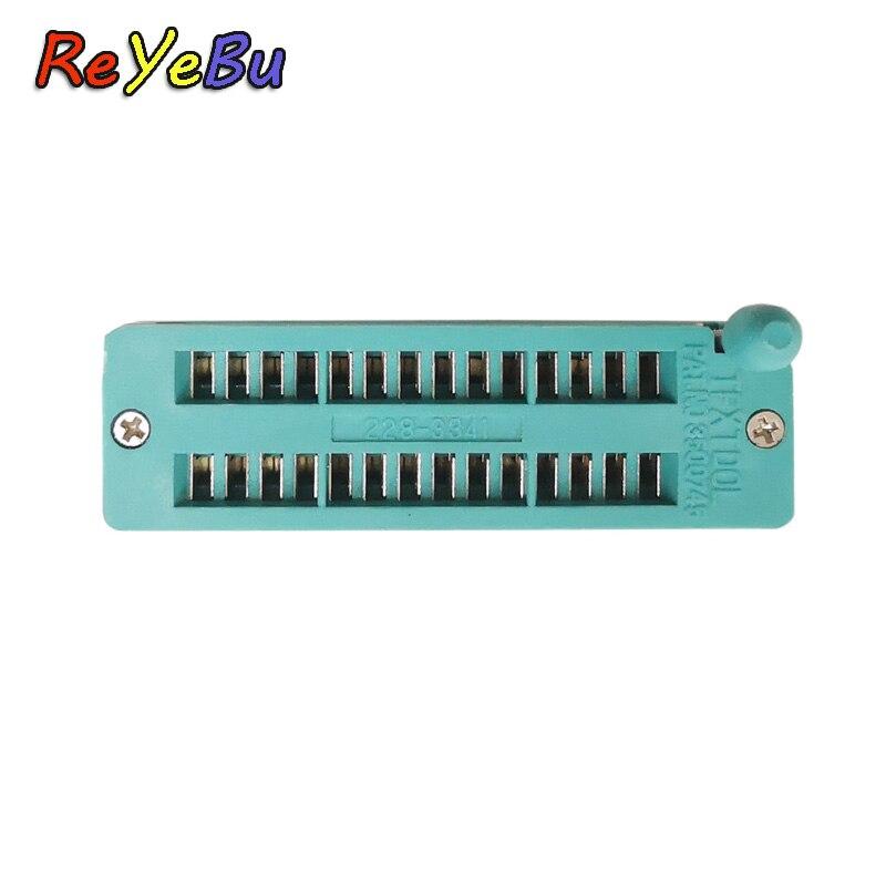 40P Locking Block IC 40P Convertible Seat 40P IC Test Socket Chip Base Integrated Circuit Socket